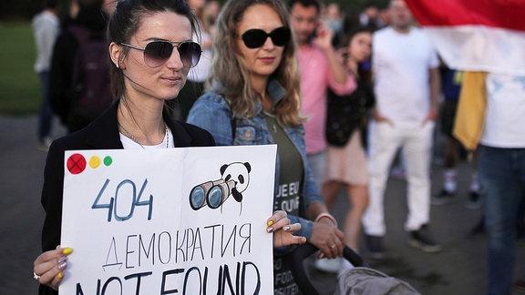 IT-Mitarbeiterprotest in Minsk