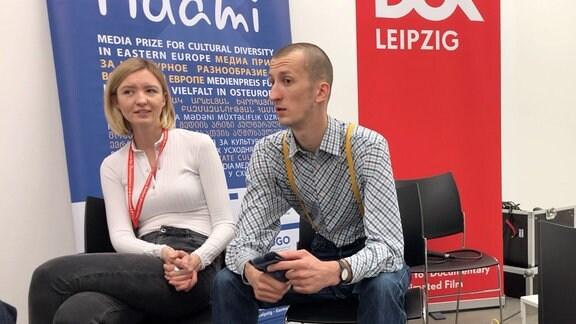 Angelina Kariakina und Oleksandr Kolchenko