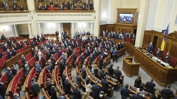 Das Parlament der Ukraine