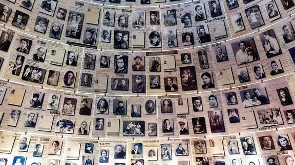 Holocaust-Gedenkstätte Yad Vashem, Jerusalem (Israel)