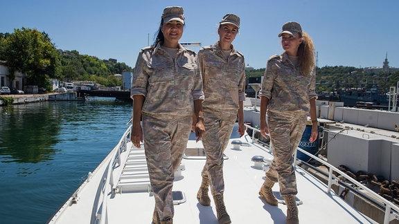 Russland Marine Frauen