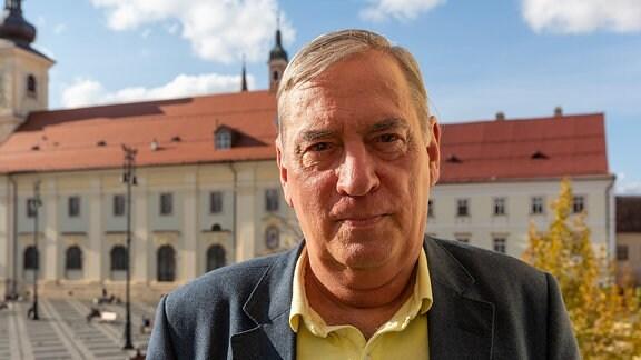 Jürgen Porr im rumänischen Sibiu