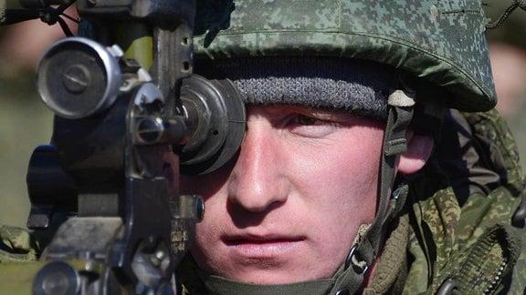 Ostukraine Russland