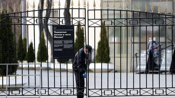 Russland Friedhof