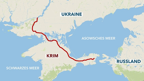 Russland-Krim-Kanal