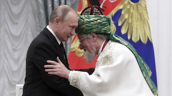 Präsident Vladimir Putin & Mufti.