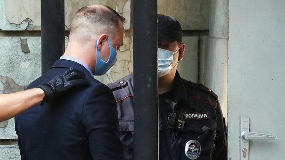Iwan Safronow wegen Verdachts der Spionage festgenommen