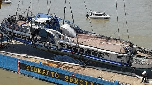 Geborgenes Schiff