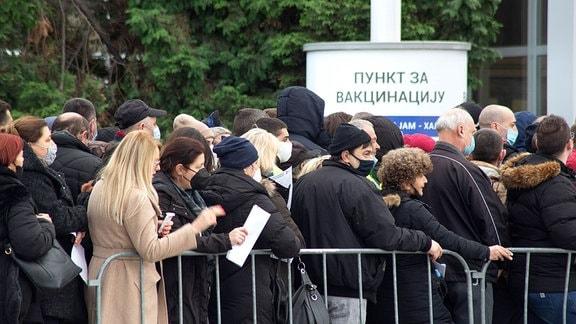 Serbien Impfung