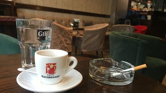 Café in Belgrad