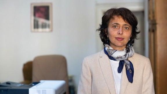 Monika Hay, Direktorin von Samuel-von-Brukenthal-Gymnasium in Sibiu, Rumänien