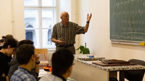 Martin Bottesch, Mathelehrer an Samuel-von-Brukenthal-Gymnasium in Sibiu