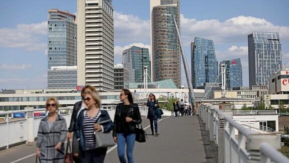 Stadtimpression Vilnius