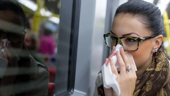 Straßenbahn Infektion