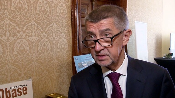 Regierungschef Andrej Babiš