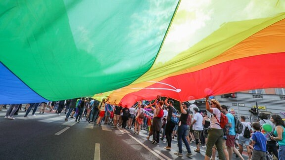 Gay Pride Parade in Budapest