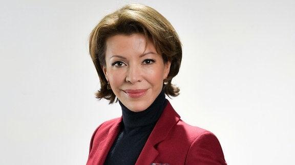 Die russische Politologin Veronika Kraschennikowa