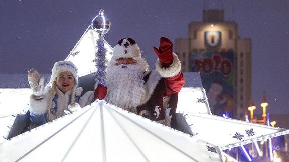 Weihnachten in Belarus