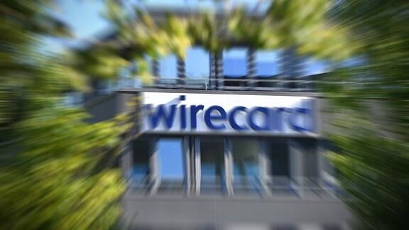 wirecard-Logo verwischt