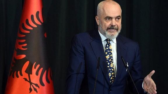 Edi Rama, amtierender Regierungschef Albanien