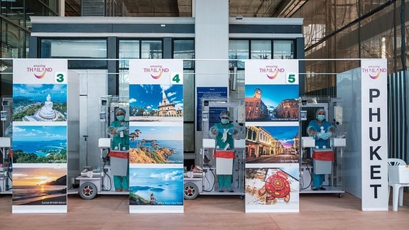 Phuket empfängt wieder Touristen