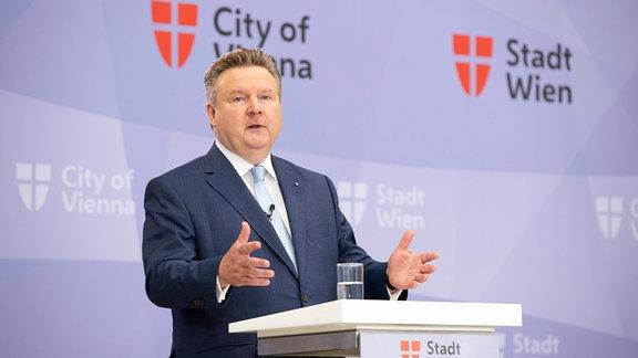 Pressestatement von Wiens Bürgermeister Michael Ludwig