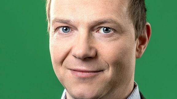 Wolfram Günther, neuer Fraktionschef der Grünen im sächsischen Landtag