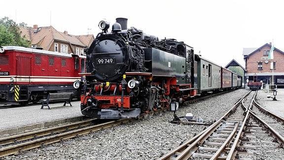historische Schmalspurbahn