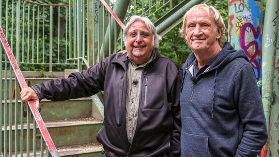 Bernd Thränhardt und Peter Gerick