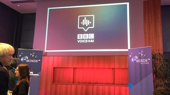 Die BBC beim ARD Voice Assistent Day