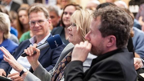 Regina Lang, Online-Chefin aus Thüringen, komplettierte die Pitchday-Jury.