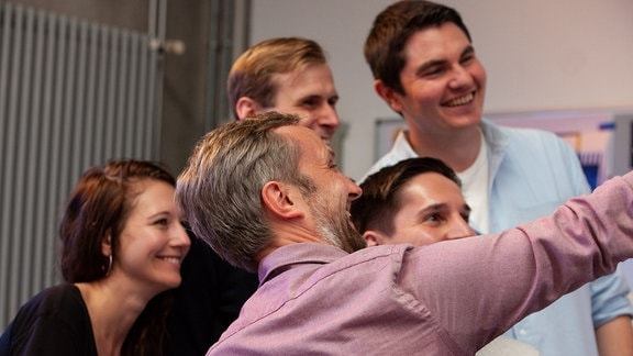 Pitchteams beim Pitchday