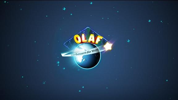 """Logo """"Olaf verbessert die Welt"""""""