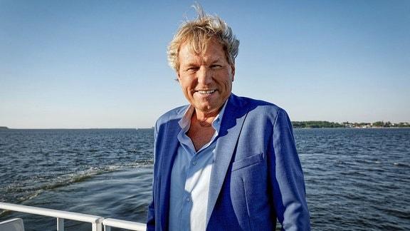Bernhard Brink auf der MS Altefähr