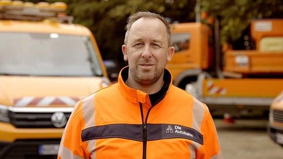 Autobahnmeister Andreas Arndt aus Gelsenkirchen