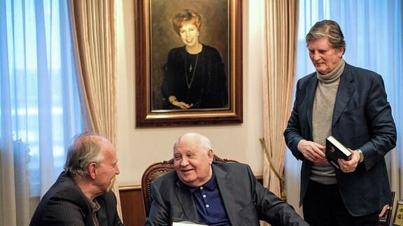 MDR FERNSEHEN GORBATSCHOW - EINE BEGEGNUNG, am Sonntag (03.11.19) um 22:55 Uhr.
