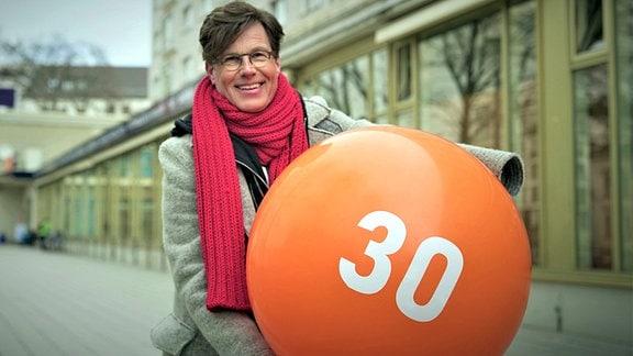 """Martin Fromme, Moderator der MDR-Sendung """"Selbstbestimmt"""" für Menschen mit Behinderung"""