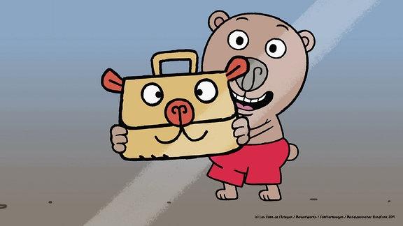 Der kleine Bär Boris erlebt lustige Abenteuer.