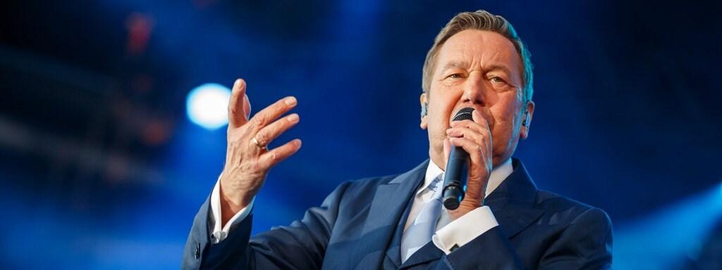 Roland Kaiser Live Erleben Arena Tournee Startet Das Erste