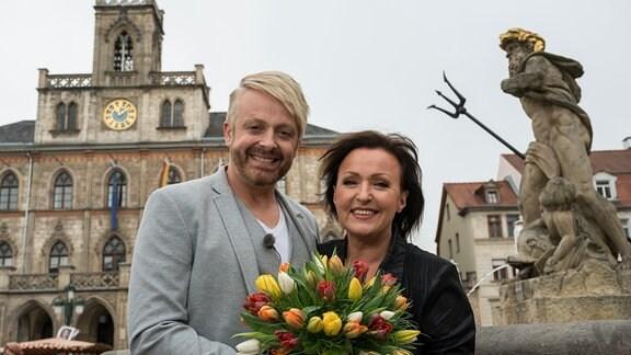 Ross Antony besucht Ute Freudenberg in ihrer Heimat