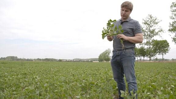 Matthias Ulrich von der Agrargenossenschaft Bad Dürrenberg