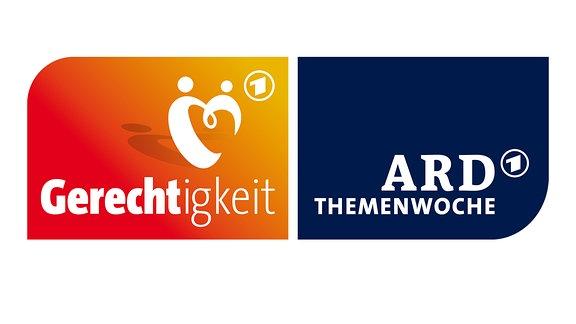 """Logo ARD-Themenwoche 2018 """"Gerechtigkeit"""""""