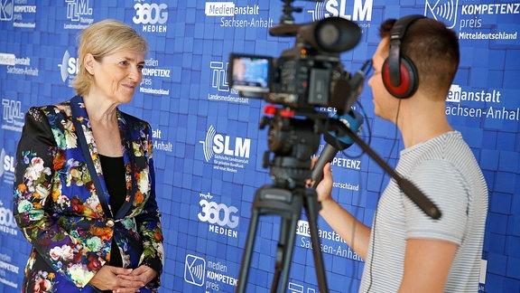 Karola Wille beim Medienkompetenzpreis Mitteldeutschland 2019