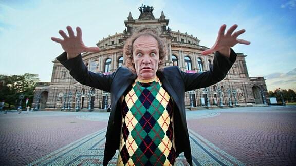 Olaf Schubert in der Semperoper Dresden