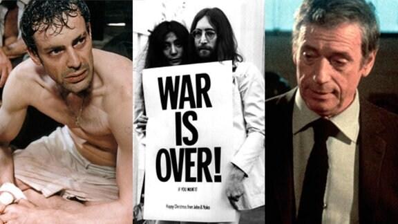 Der letzte Zug (Quelle: ARD-Foto, Rechte: DEGETO FILM), Die Akte USA gegen John Lennon (Quelle: ARD-Foto, Rechte: BR/Telepool/Frank Barratt), Vincent, Paul, Francois (Quelle: ARD-Foto, Rechte: DEGETO FILM)