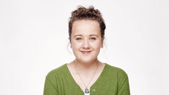 """Madeleine Haas spielt in der Serie """"Schloss Einstein"""" die Rolle der """"Rike"""""""