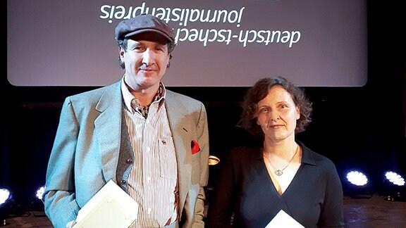 Deutsch-tschechischer Journalistenpreis 2019 für die MDR-Journalisten Dennis Wagner und Jacqueline Hene