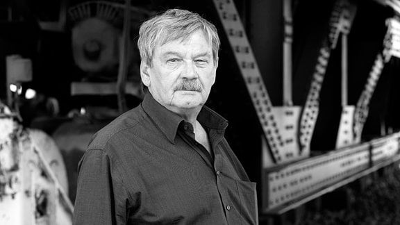 Schauspieler Wolfgang Winkler als Hauptkommissar Herbert Schneider