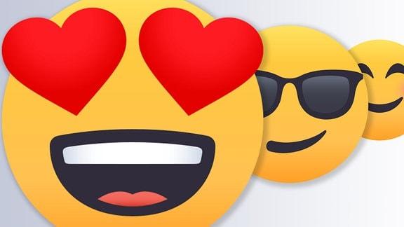lustige Emojis