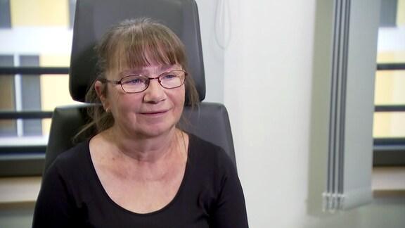 Patientin Andrea Rödiger